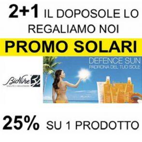 Sconto 25% su un Solare Bionike